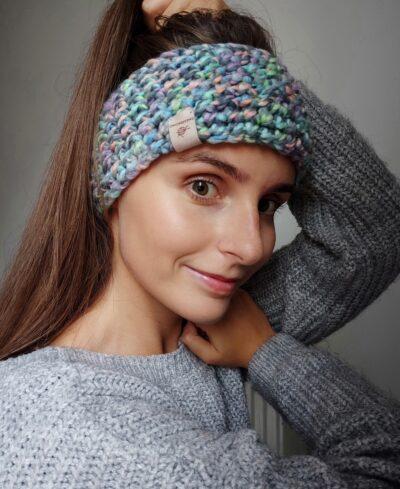 opaska zimowa handmade