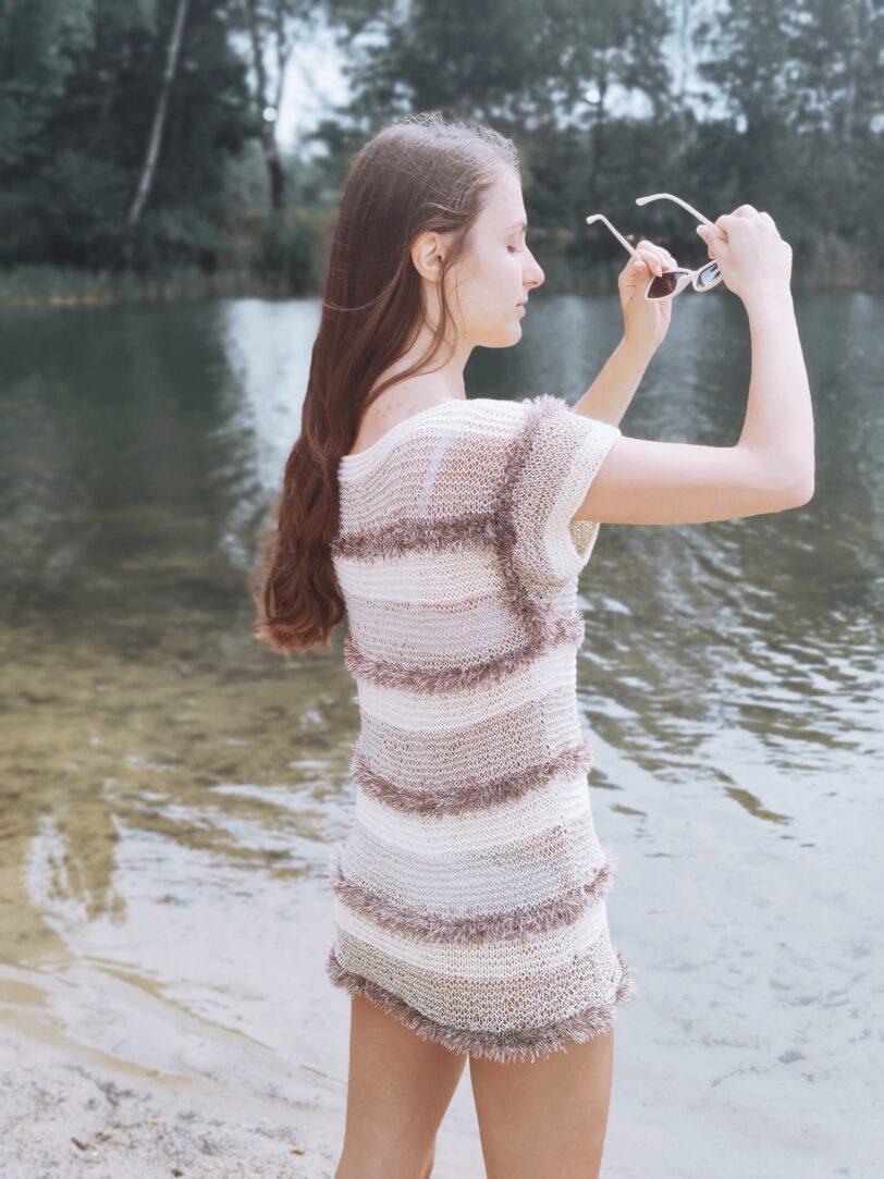 bawełniana bluzka handmade