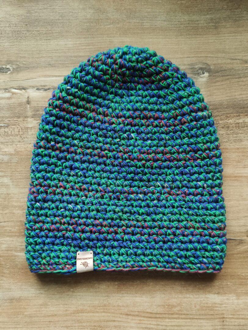 czapka zimowa merino
