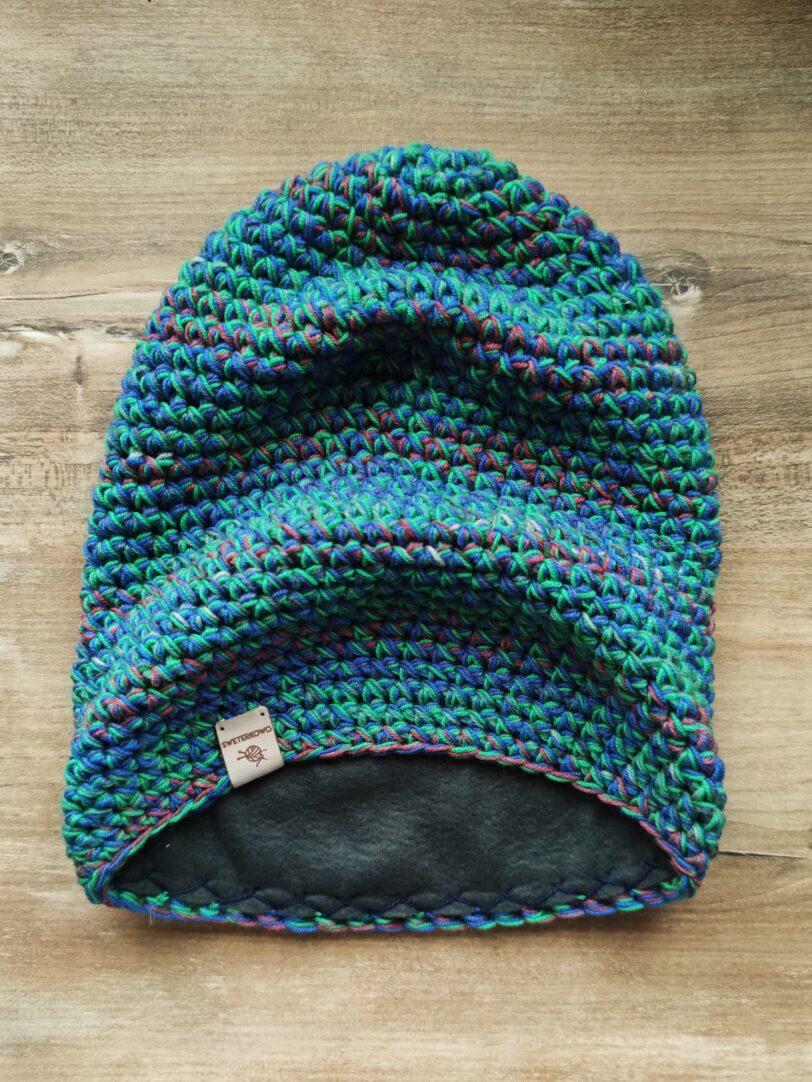 wełniana czapka zimowa merino